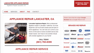 Lancaster Appliance Repair