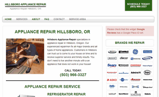 Hillsboro Appliance Repair