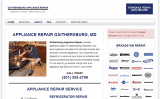 Gaithersburg Appliance Repair