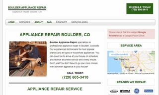 Boulder Appliance Repair