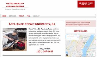 United Union City Appliance Repair