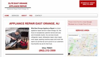 Elite East Orange Appliance Repair