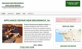 Enhance New Brunswick Appliance Repair