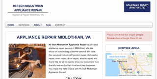 Hi-Tech Midlothian Appliance Repair
