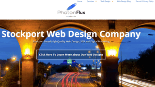 Photon Flux Web Design