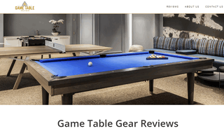 Game Table Review