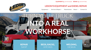 Ledoms Equipment And Diesel Repair