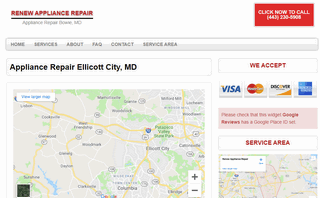 Renew Appliance Repair - Ellicott City