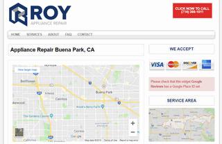 Roy Appliance Repair - Buena Park