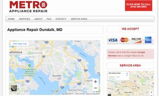 Metro Appliance Repair - Dundalk