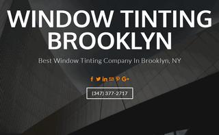 Window Tinting Brooklyn