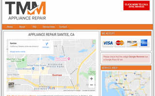 T.M. Major Appliance Repair