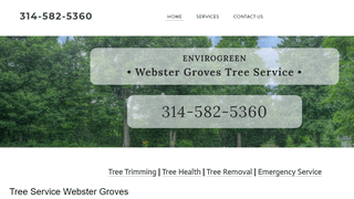 tree service Webster Groves MO