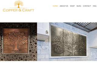 Copper tiles - Copper & Craft