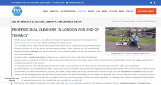End of Tenancy Cleaning London - TSV Cleaning