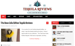 Tequila Reviews