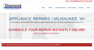 Diamond Appliance Repairs of Milwaukee