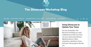 Showcase Workshop Blog - Sales Presentations