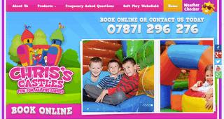 Chris's Castles Bouncy Castle Hire Wakefield