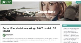 Aviator Cloud Base