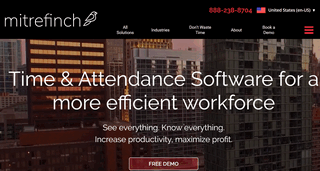 Mitrefinch Time and Attendance Software