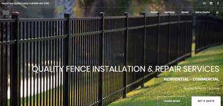Fence Installers Redlands CA