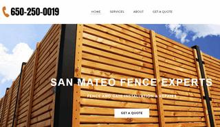Fence repair contractors San Mateo CA