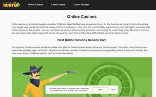 CasinosHunter - Best Online Casinos in Canada