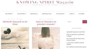 Spirituelles Magazin Knowing