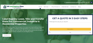 UK Land Registry Lease & Title Plans