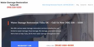 Water Damage Tulsa OK