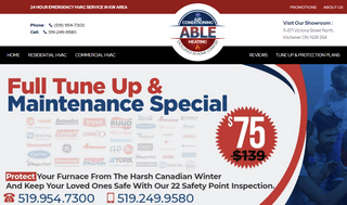 Able Air KW | Residential & Commercial Heating And Cooling Company