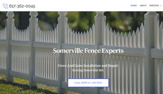 Fence Company Somerville MA