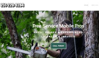 Tree service company in Mobile Alabama