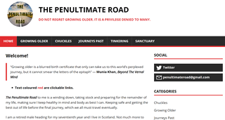 The Penultimate Road