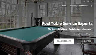 Pool Table Repair Richmond VA