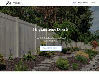 Fence Company Hingham MA