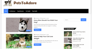 Cat And Dog Blog