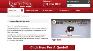 Quote Devil Home Insurance
