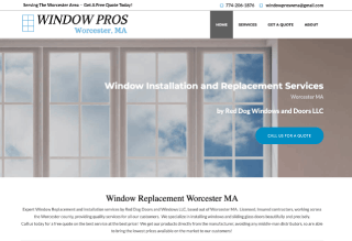 Window Replacement Company Worcester MA