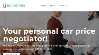Car Price Negotiator Boston MA