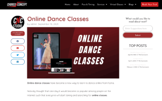Online Dance Classes | nr1 Best Virtual Dance Classes: Choreo N Concept