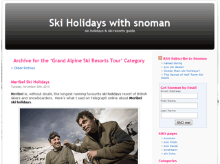 ski holidays with snoman