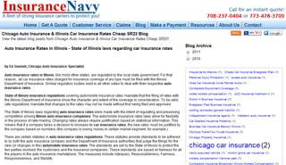 Auto Insurance Rates Illinois Blog