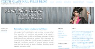 Czech Glass Nail Files blog | by Mont Bleu
