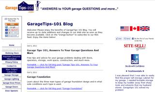 Garage Blog