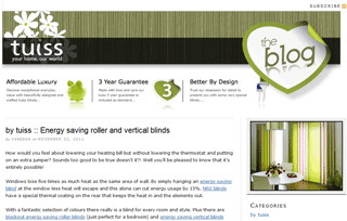 Blinds & Curtains by tuiss Blog