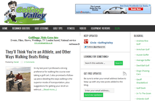 Hitting The Green Blog
