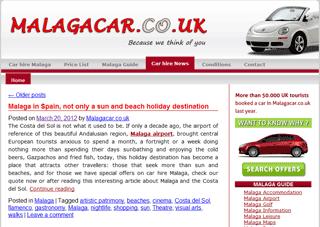 Malaga tourism