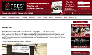 Presentations to Grow Your Home Staging Biz